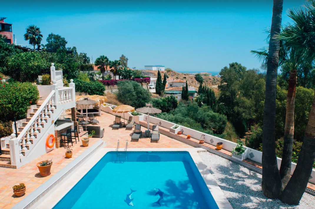 Large Villa With Sea Views In Benalmadena