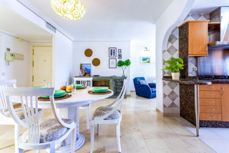 Beachfront Apartment in Marbella Centre