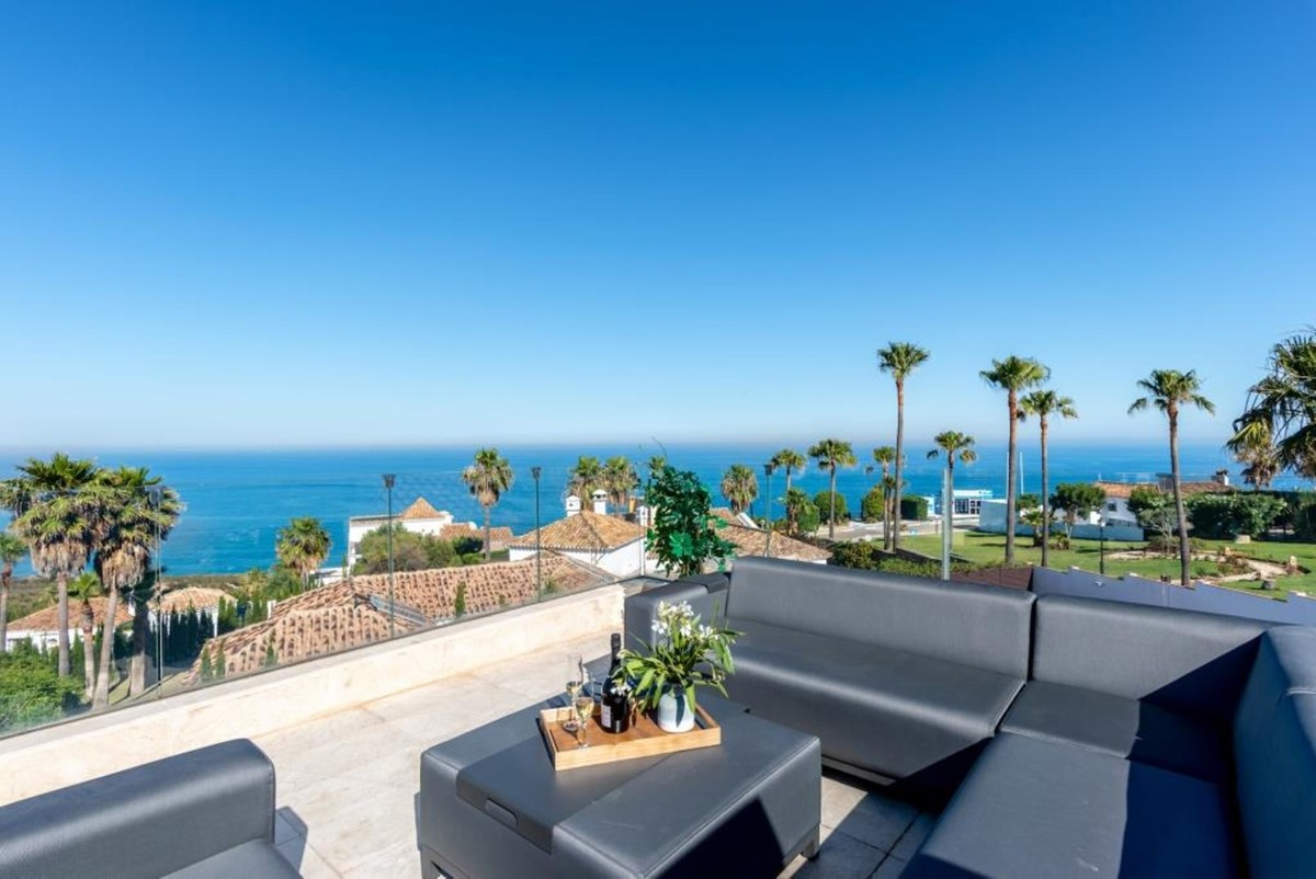 INVESTMENT Opportunity! Luxury Beachfront Detached Villa with Sea Views in Manilva