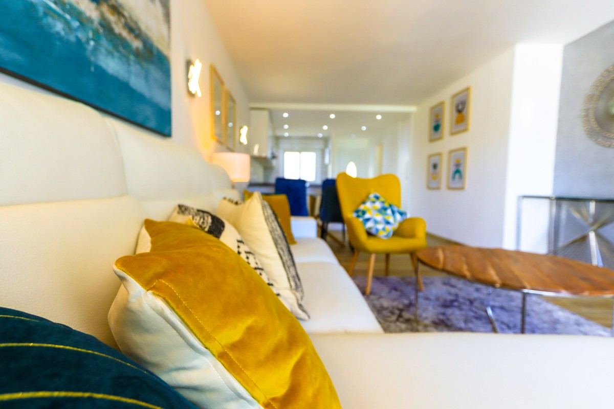 INVESTMENT Opportunity! Luxury Ground Floor Apartment with Pool in New Golden Mile, Estepona