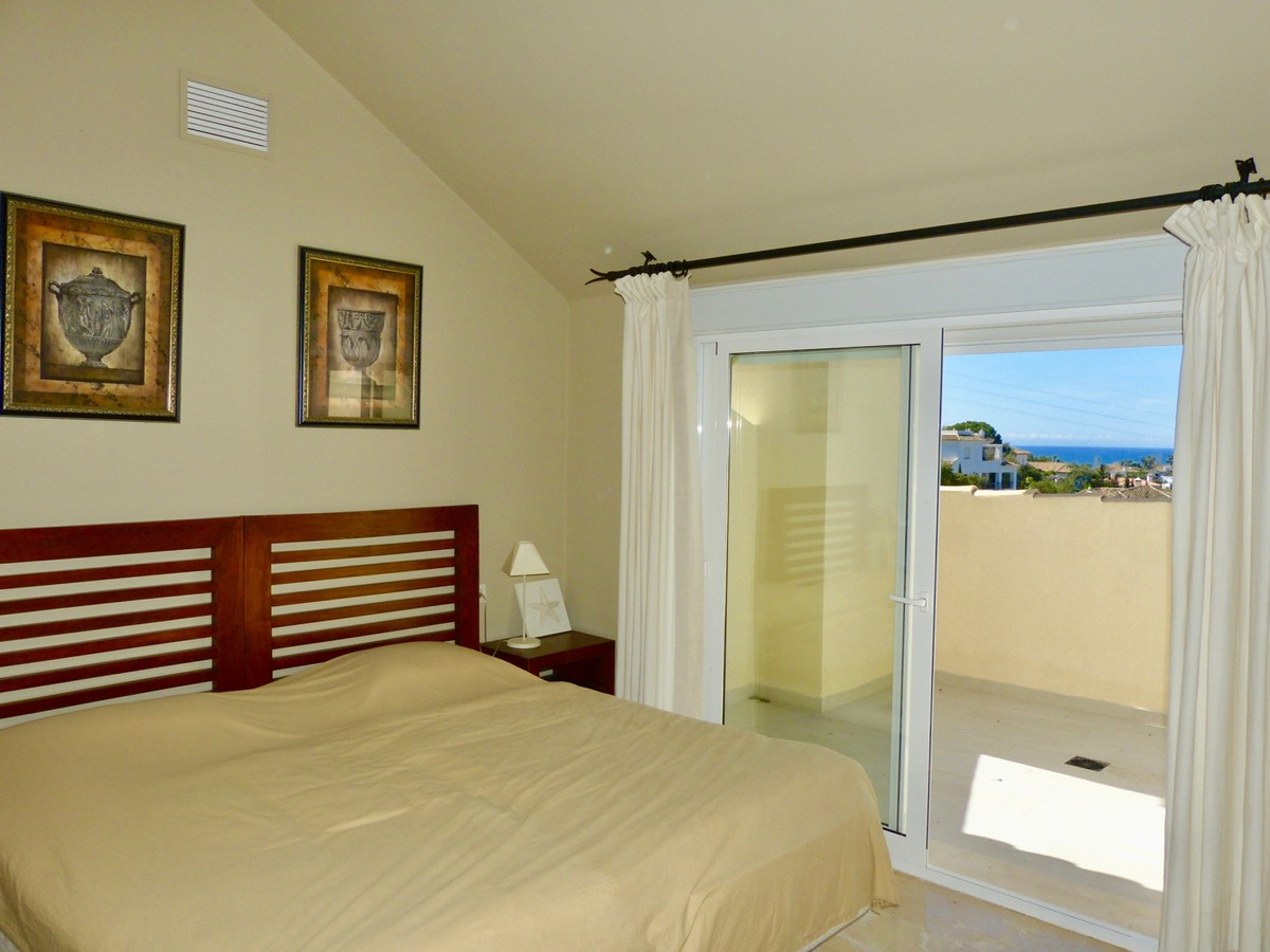 Penthouse with Sea Views  in Elviria, Marbella