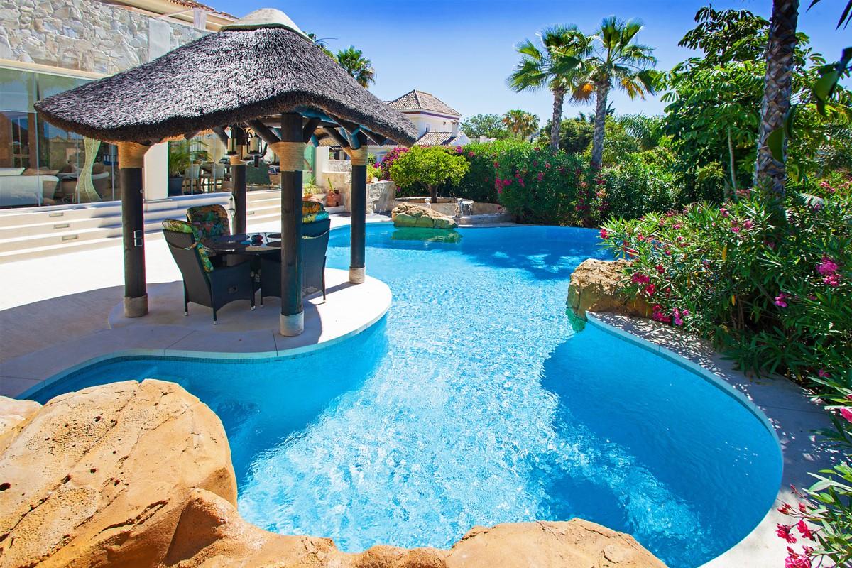 Large Luxury Detached Villa with Sea Views in Elviria, Marbella