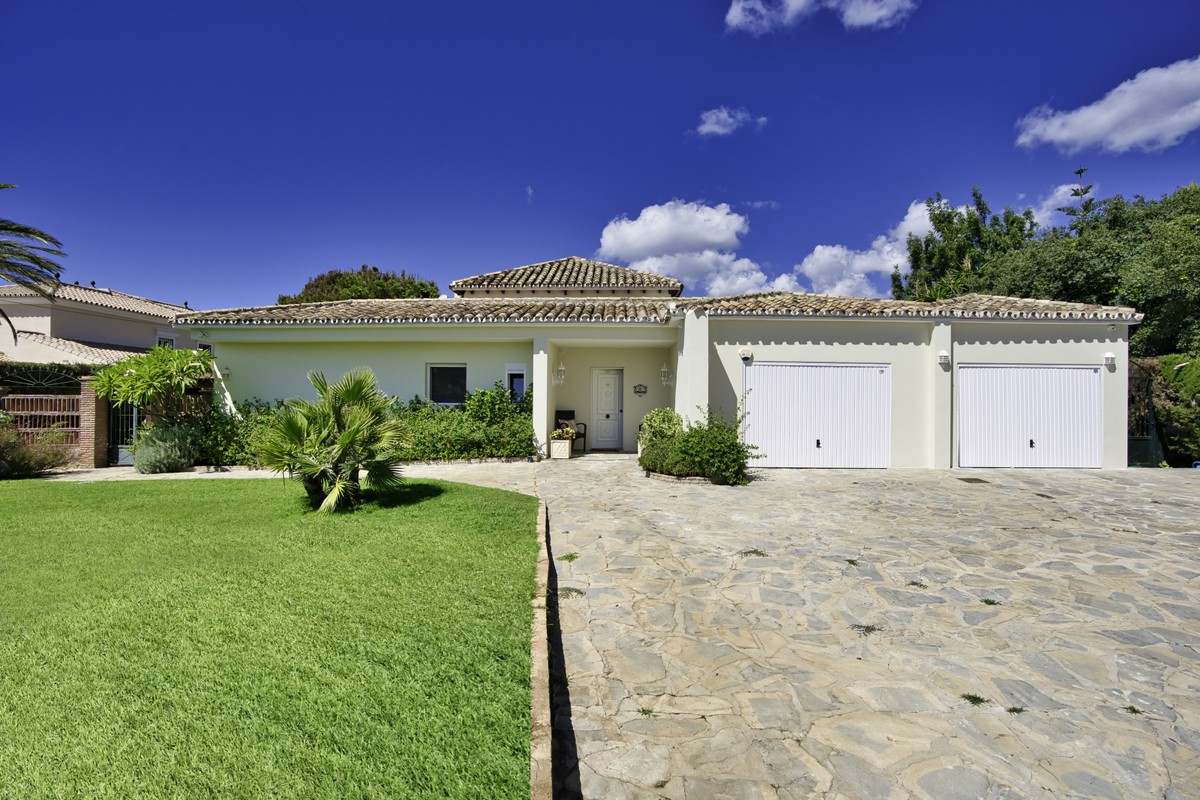 INVESTMENT Opportunity! Large Luxury Detached Villa with Sea Views in Elviria, Marbella