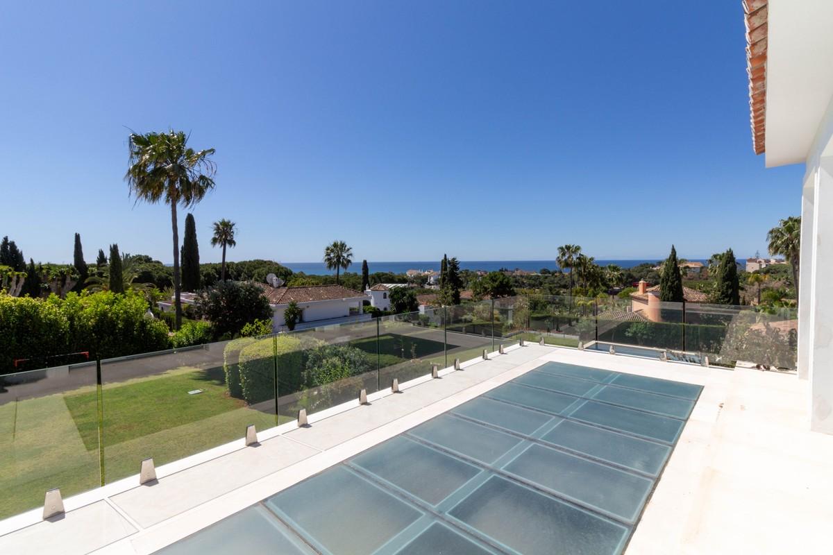 Large Luxury Detached Villa with Sea Views in Hacienda Las Chapas, Marbella