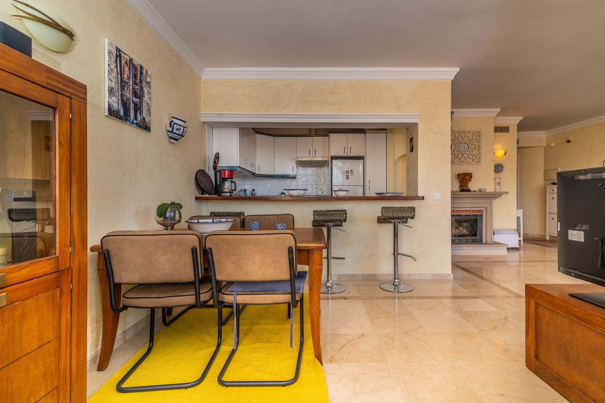 INVESTMENT Opportunity! Golf Middle Floor Apartment with Sea Views in Elviria, Marbella