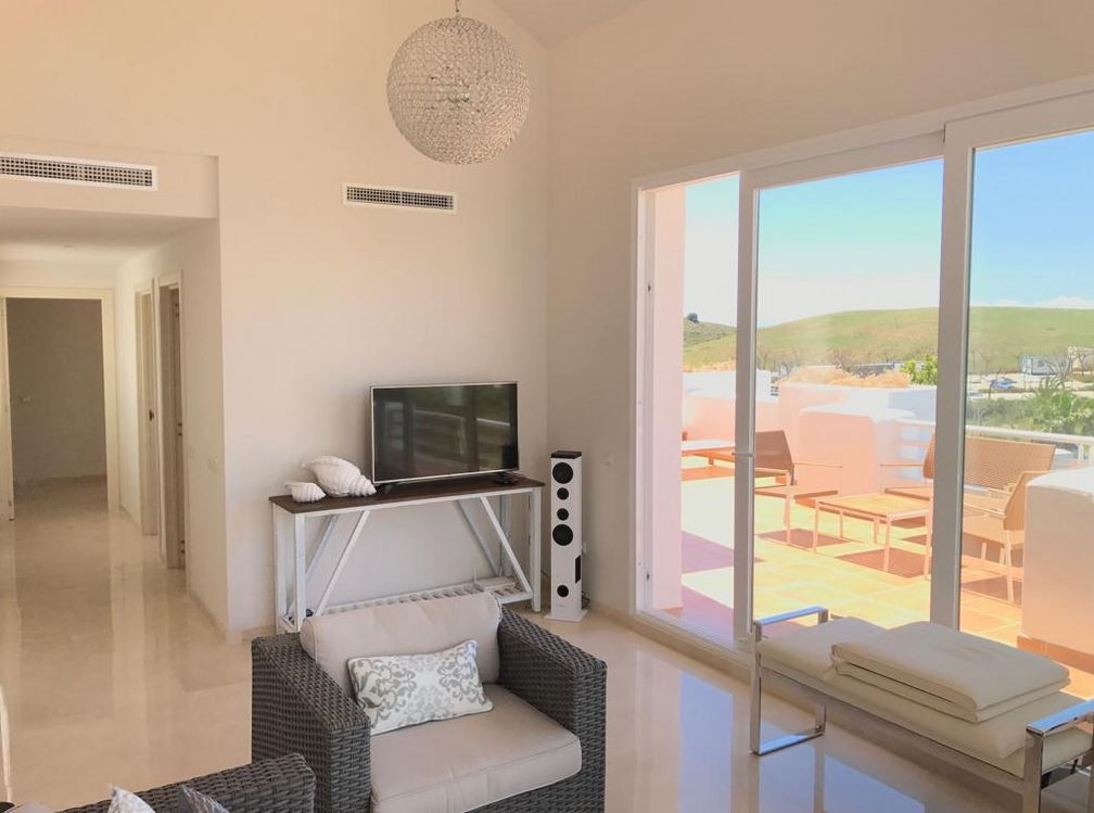 INVESTMENT Opportunity! Large Golf Penthouse with Sea Views in Estepona