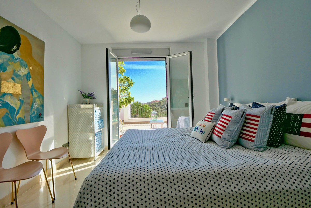 Luxury Penthouse with Sea Views in La Mairena, Ojén