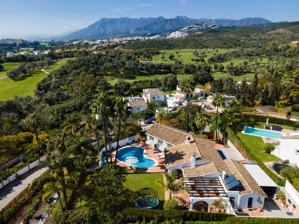 INVESTMENT Opportunity! Large Luxury Detached Villa with Sea Views in El Rosario, Marbella