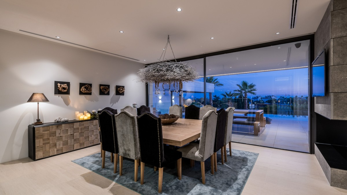 Large Luxury Beachfront Detached Villa with Sea Views in Marbella